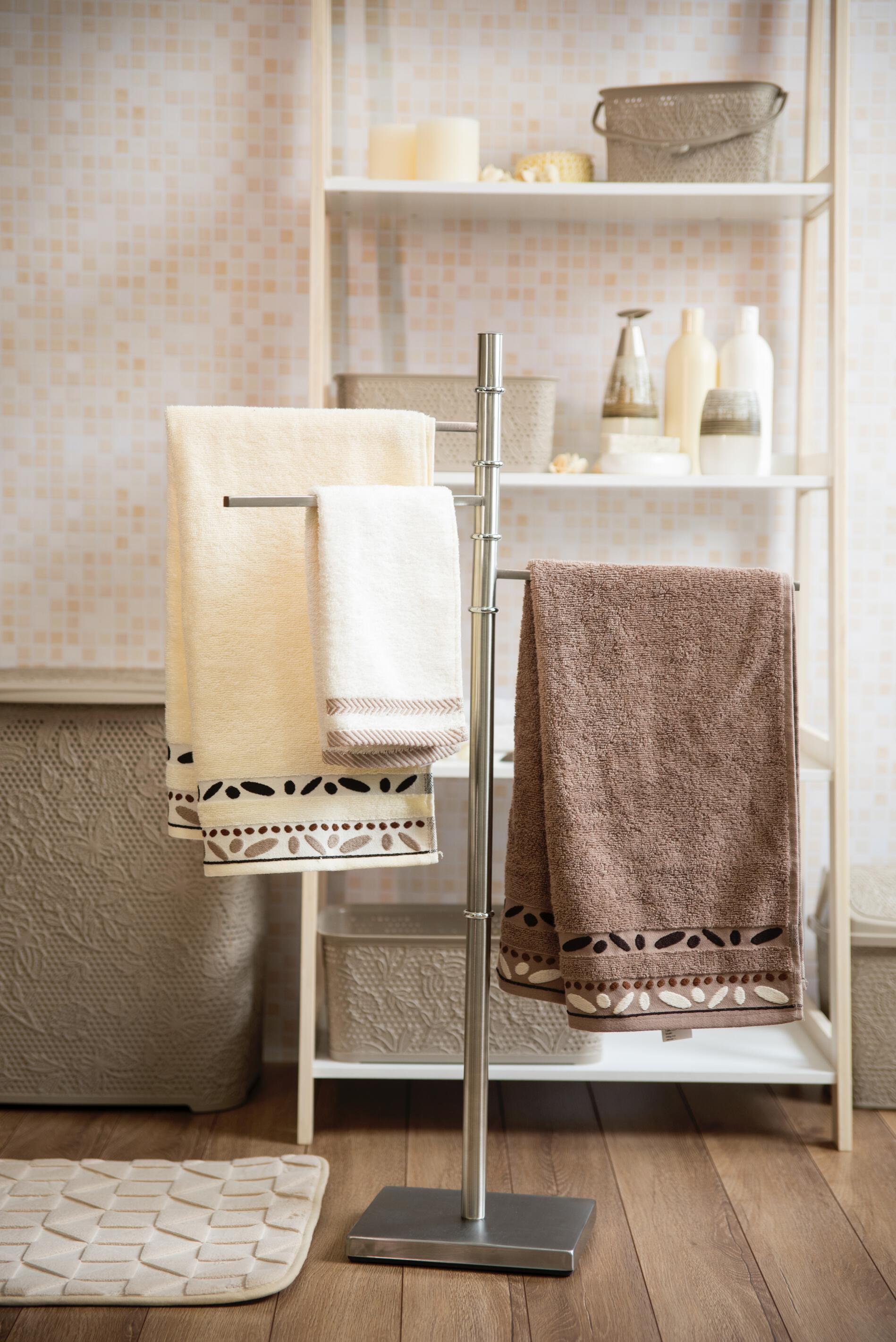 Wieszak Stojak łazienkowy Na Ręczniki Alvaro Wolnostojący